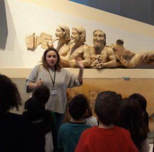 Ιστορίες για Μυθικά Τέρατα - Ξενάγηση για παιδιά 5-8 ετών @ Μουσείο Ακρόπολης